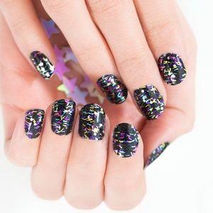Ready set confetti color street nails nip